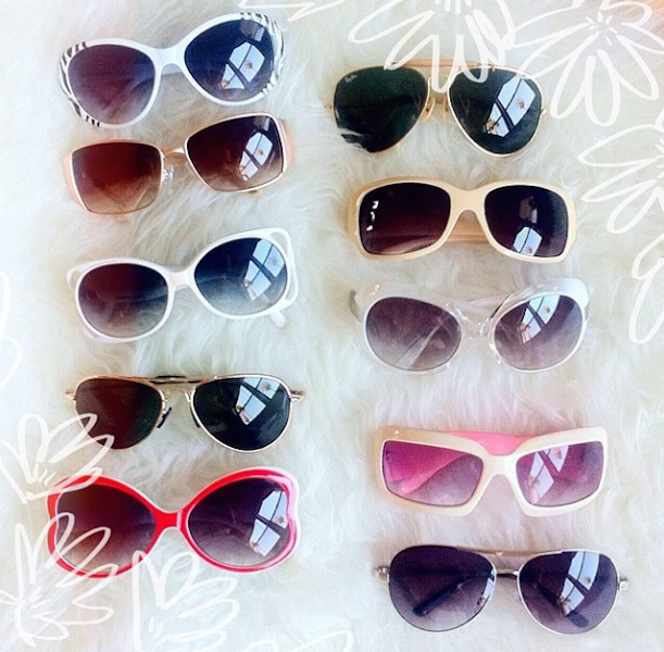 lately instagram, sunglasses