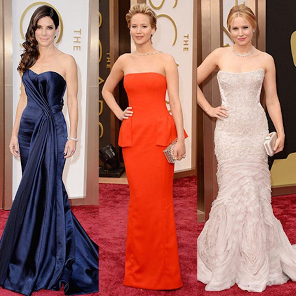 red carpet, Instagram-pslilyboutique, LA fashion blogger, Oscars, evening gowns