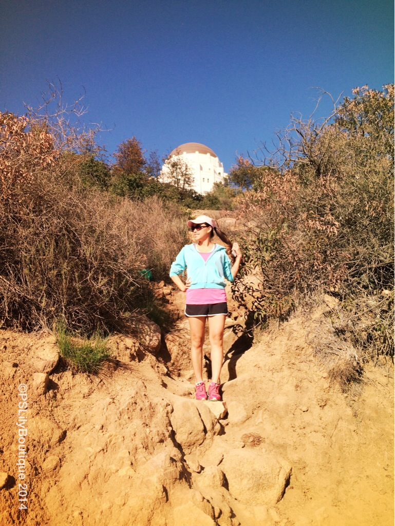 Walk This Trail, pslilyboutique, Fitness, Hiking, Griffith Park, Los Angeles fashion blogger, fashion blog, fashionista, LA