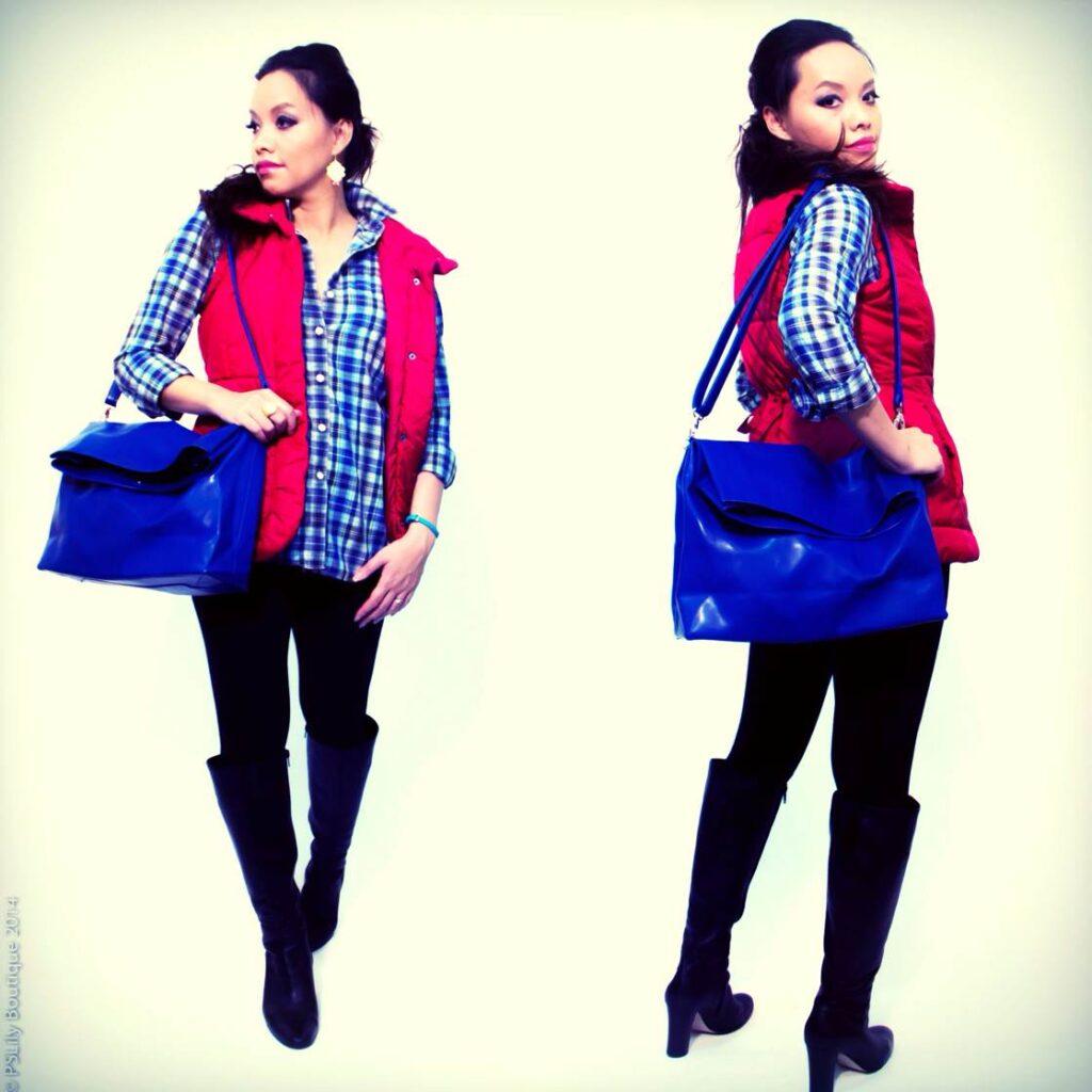 instagram-pslilyboutique, la fashion blogger, best fashion blogger, my style, fashionista, vest, plaid shirt, ootd