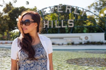 instagram-pslilyboutique, LA fashion blogger, top fashion blogger, street fashion, beverly hills, my style, dress, sunglasses, long hair, summer outfit ideas