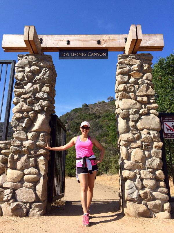 instagram-pslilyboutique, la fashion blogger, los liones canyon, fitness, hiking, travel, lifestyle, running shorts