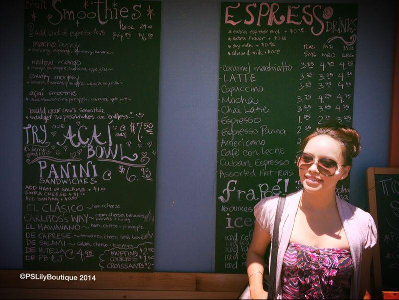 Vintage Sunglasses, Los Angeles fashion blogger | PSLily Boutique