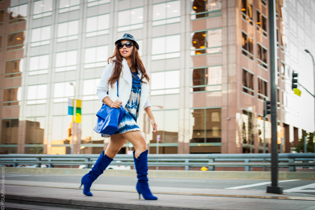 Instagram: @pslilyboutique, LA fashion blogger, blog, ootd, my style, street fashion, dress, boots, hat, bag, sunglasses