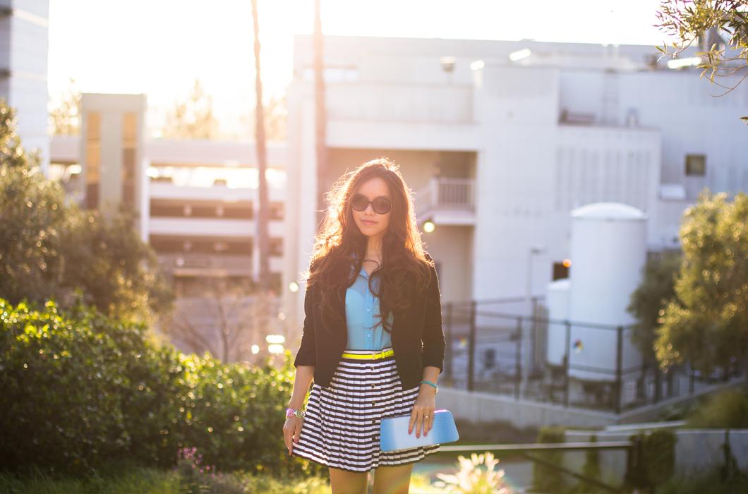 Gradient Stripes | pslilyboutique , Instagram @pslilyboutique, los angeles fashion blogger