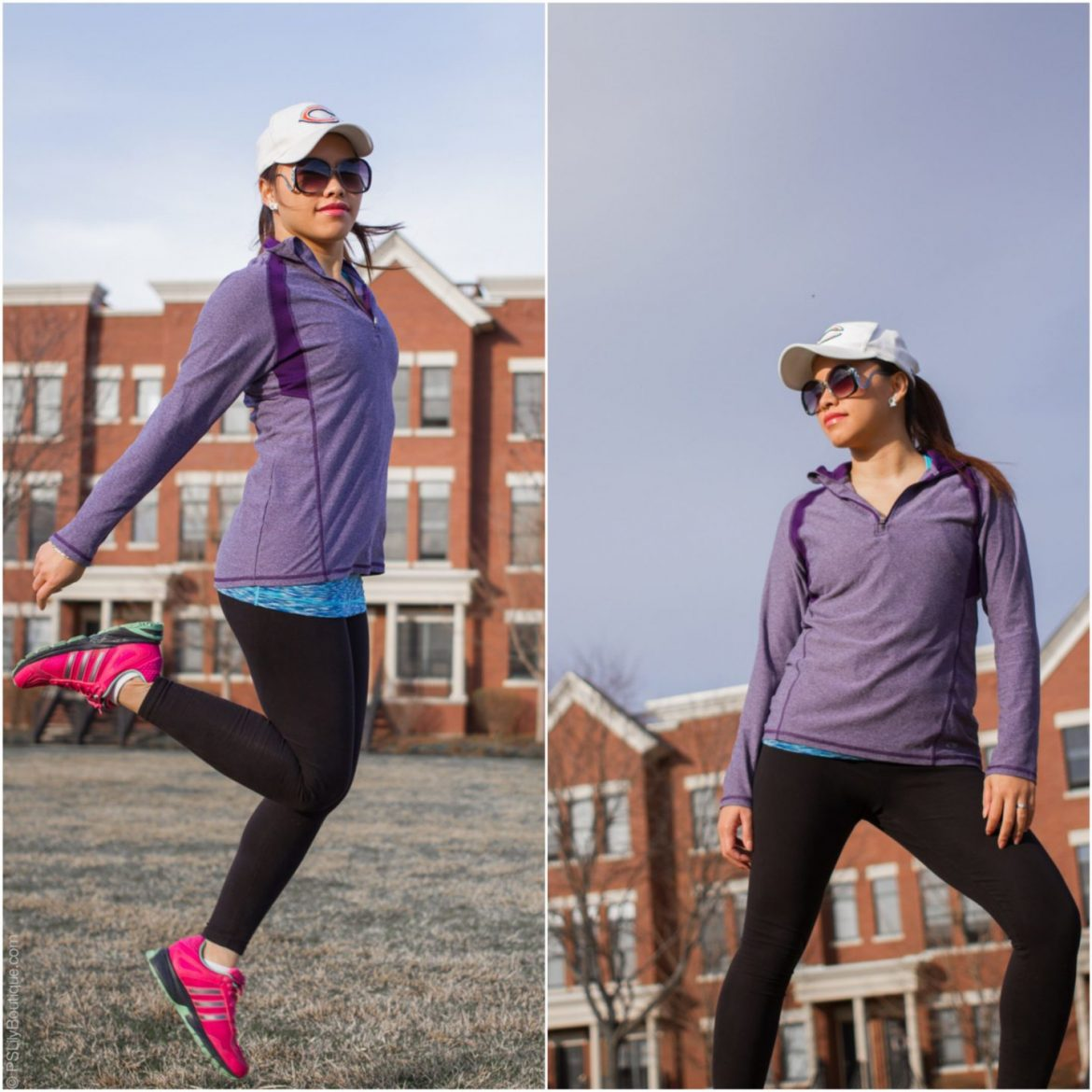 instagram-@pslilyboutique-fashion-blogger-purple-c9-champion-target-supersoft-pullover-fitness