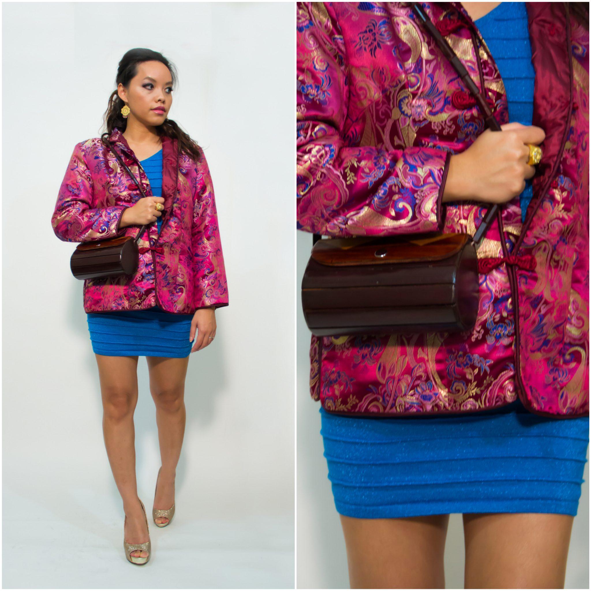 pslilyboutique-fashion-blog-vintage-dark-pink-silk-embroidered-jacket