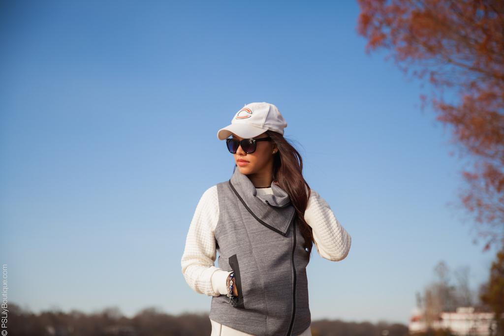 instagram-pslilyboutique-los-angeles-fashion-blogger-white-reebok-hat-gray-reebok-vest-white-reebok-crew-sweatshirt-black-betsey-johnson-sunglasses-grande-lips-pale-rose-lip-plumper-fall-ootd