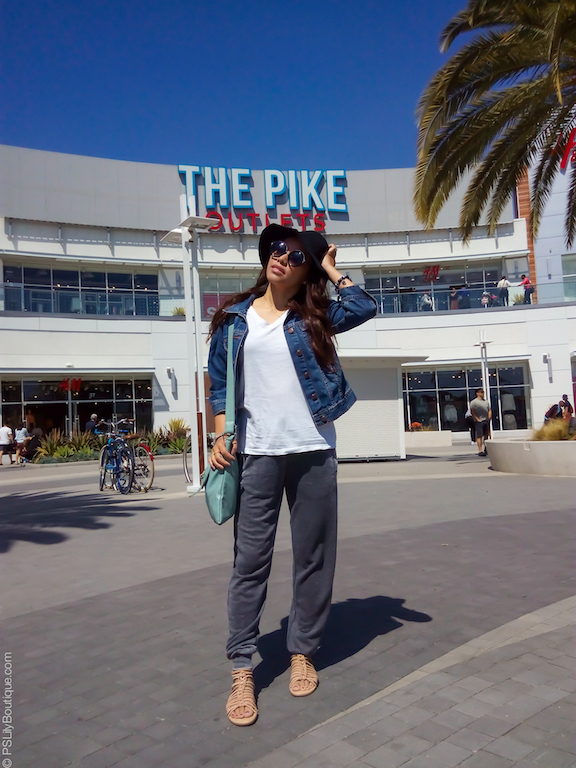 instagram-pslilyboutique-la-style-blogger-forever21-gray-joggers-beige-lucky-brand-casmette-sandals-light-blue-crossbody-bag-blog-spring-2017-the-pike-outlets-long-beach-ca-outfit-ideas-3-28-17