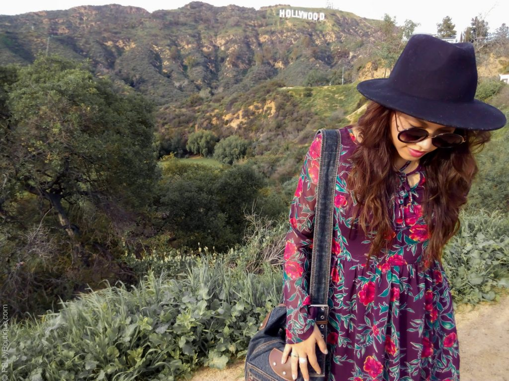 instagram-pslilyboutique-los-angeles-fashion-blogger-fashionista-lifestyle-travel-blog-maroon-floral-dress-ootd-hollywood-sign-3-3-17