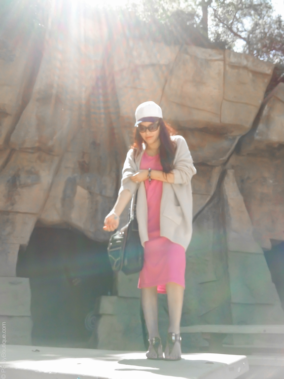 instagram-pslilyboutique-los-angeles-fashion-blogger-pinterest-beige-mia-sandals-denim-bag-spring-2017-outfit-idea-pink-short-sleeve-midi-dress-beige-cardigan-4-13-17
