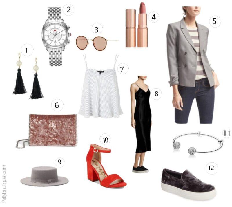 Summer Lovin... | PSLily Boutique, Instagram: @pslilyboutique, PSLily Boutique fashion blog, Pinterest, Los Angeles fashion blogger, top fashion blog, best fashion blog, fashion & personal style blog, travel blog, LA fashion blogger, dress, shoes, bracelet, bag, top, jacket, earrings, watch, lipstick, sunglasses, hat, summer 2017 outfit ideas, inspiration, 7-28-17