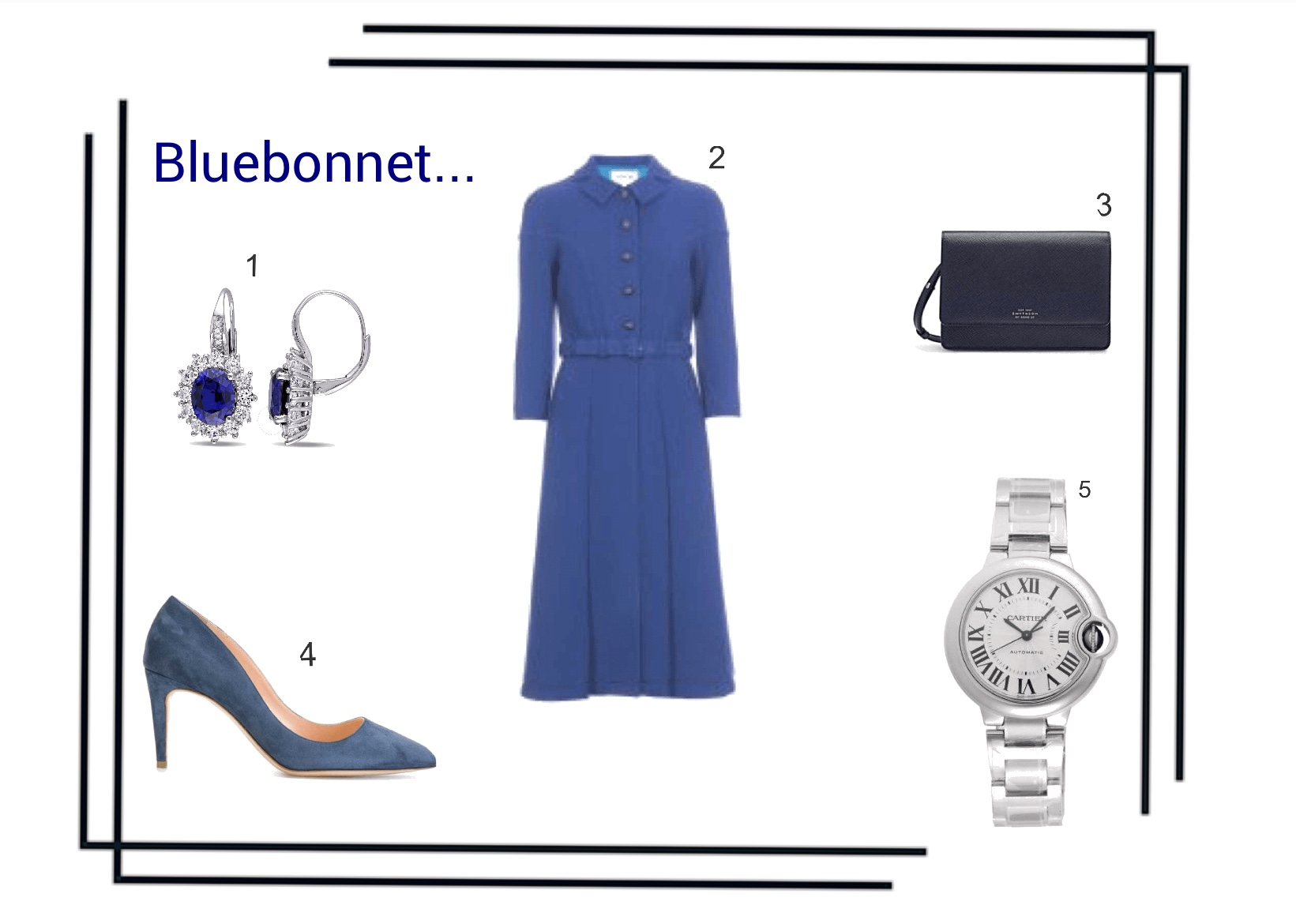 Instagram: @pslilyboutique, Pinterest, Los Angeles fashion blogger, top fashion blog, best fashion blog, fashion & personal style blog, travel blog, travel blogger, LA fashion blogger, Bluebonnet, RUPERT SANDERSON Nada pumps in bluebonnet, SMYTHSON Panama cross-grained leather wallet with strap in navy, Cartier Balloon Bleu Silver Watch, Sapphire and Diamond Drop Earrings, Eponine London royal blue belted dress coat, Fall & Winter 2018 Outfit Ideas, Shopping, Inspiration, 11.14.18