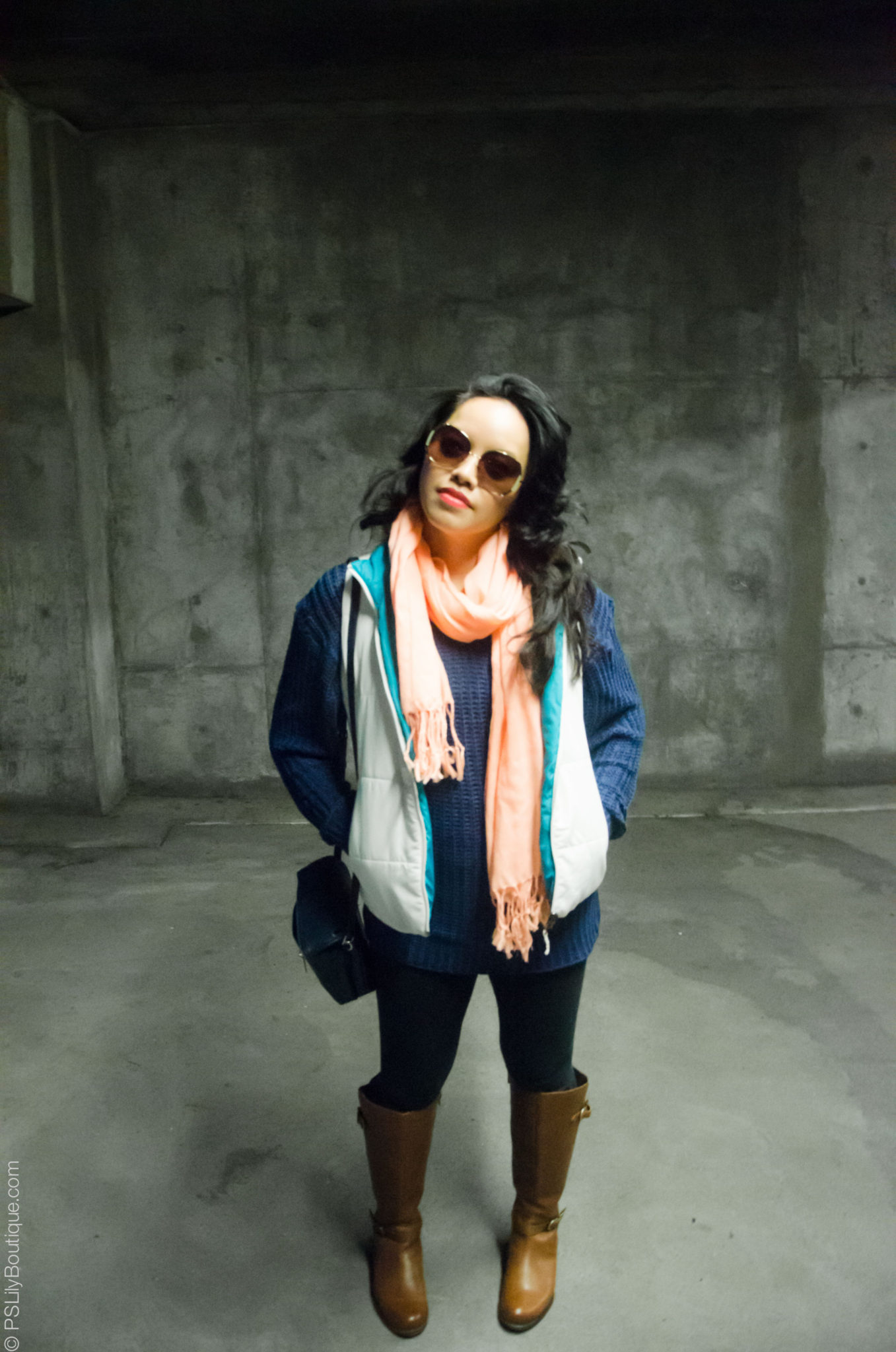 Instagram: @pslilyboutique, Pinterest, Los Angeles fashion blogger, top fashion blog, best fashion blog, fashion & personal style blog, travel blog, travel blogger, LA fashion blogger, Cozy-Up-PSLilyBoutique-a-fashion-and-personal-style-blog-target-white-puffer-vest-naturalizer-riding-Brown_Boot-fall-winter-2018-outfit-ideas-12-17-18-3