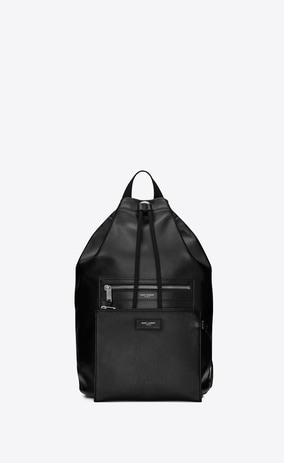 SAINT LAURENT City Sailor Backpack in Smooth Leather