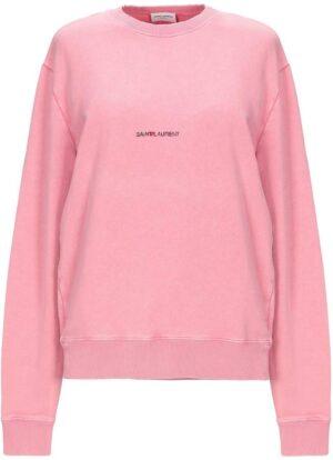 SAINT LAURENT Sweatshirts -Pink